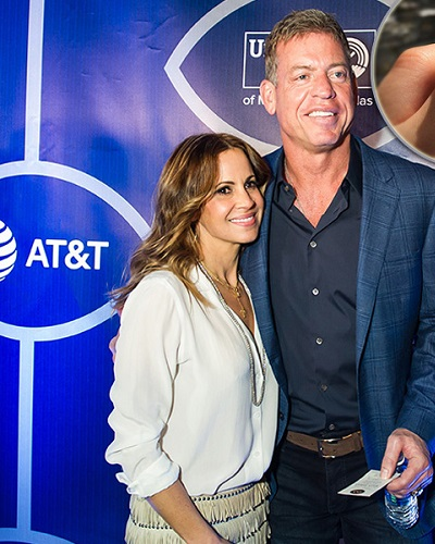 Troy aikman dating sandra bullock 1995