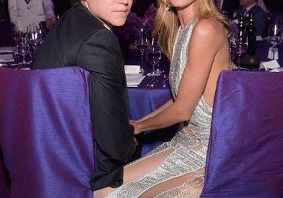 Heidi Klum stuns in New York as boyfriend Vito Schnabel denies cheating on her with mystery brunette…