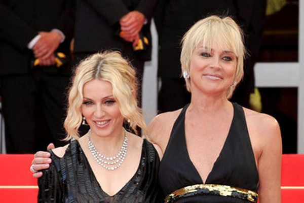Source: Zimbio (Madonna with Sharon Stone)