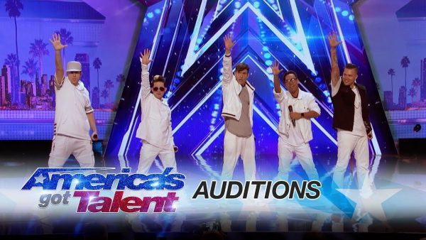 Source: YouTube (Boys Band in America's Got Talent 2017)