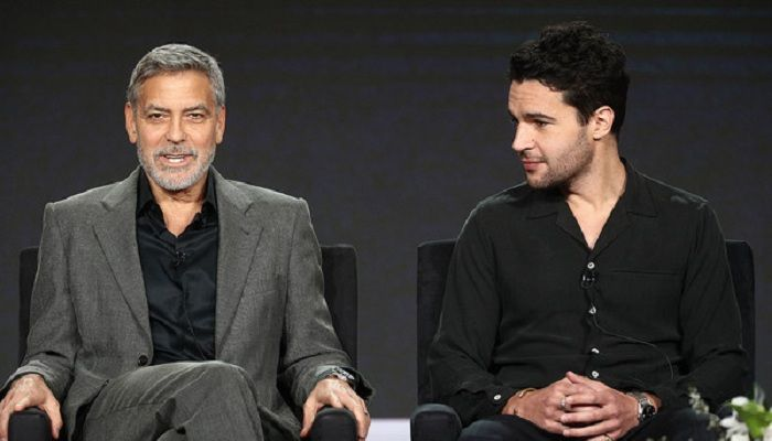 George Clooney and Chr...