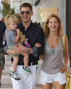The Family Arising From the Worst Times!! Michael Buble's Wife Talks About Their Son's Cancer Battle; Says 'Thank God the Worst Is Over'