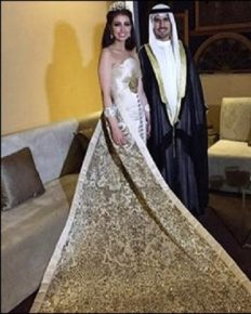 Lavish Wedding!! The Grand Celebration Of The Marriage In Kuwait; Guest Received The Diamond Ring On The Royal Ceremony