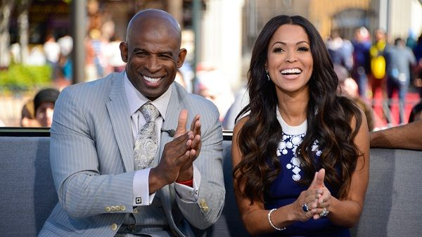 Tracey Edmonds and Deion Sanders