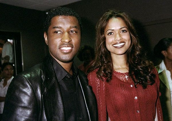 Tracey Edmonds with ex-husband Babyface