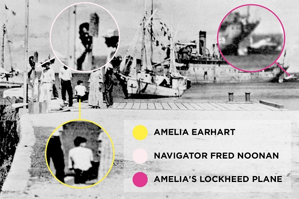 Source: People (New theory suggests Earhart survived and was taken prisoner by Japanese)