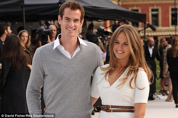 Source: Daily Mail (Andy Murray and his wife Kim Sears are expecting their second child soon)