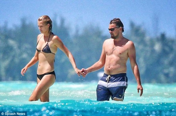 Source: Daily Mail (Toni with Leonardo)