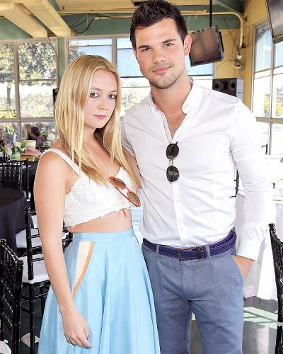 Romantic Couple Taylor Lautner and Billie Lourd Break Up After 8 Months Together! Check out their Relationship History here!!