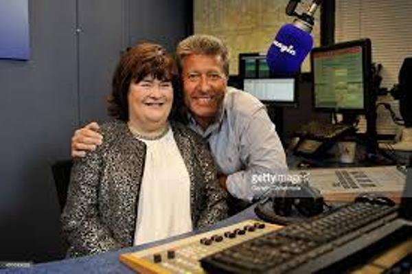 Source: The Sun (Susan with DJ Neil Fox)