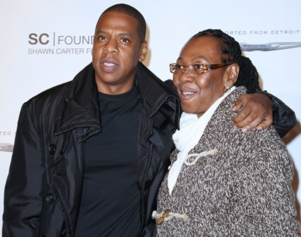 Source: Washington Post (Jay Z with mother Gloria Carter)