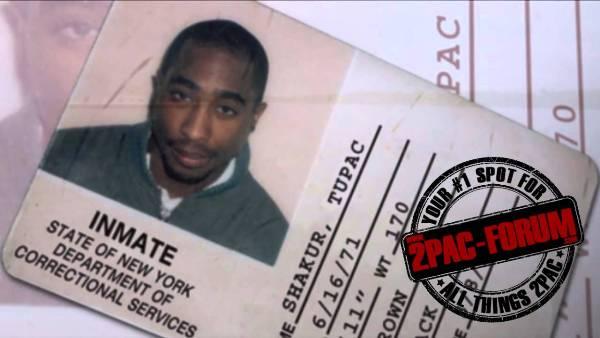 Tupac's prison I-card