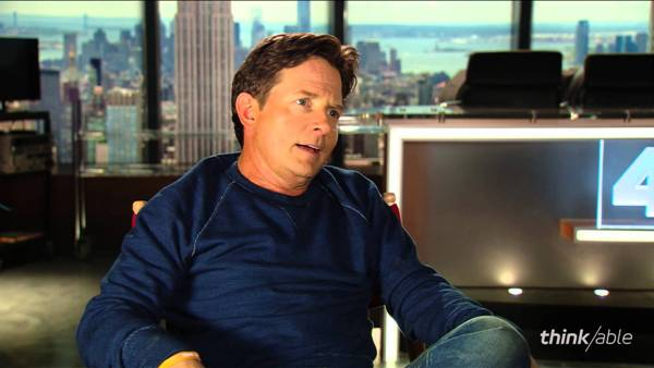 Source: YouTube (Michael Fox and his rigidity due to Parkinson's disease)