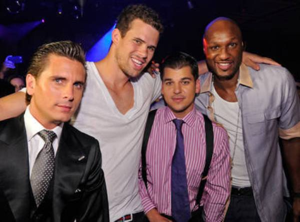 Source: Eonline (Scott Disick, Kris, Rob, Lamar Odom)