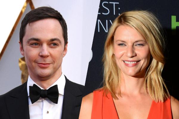 Source: Hollywood.com (Jim Parsons and Claire Danes)