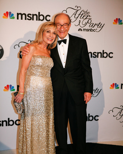 Foto de família do(a) economista, casada com Andrea Mitchell , famoso por Chairman of the Federal Reserve of the United States.