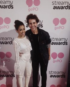 Youtuber David Dobrik and girlfriend Liza Koshy have cutest realtionship. See more on their affair