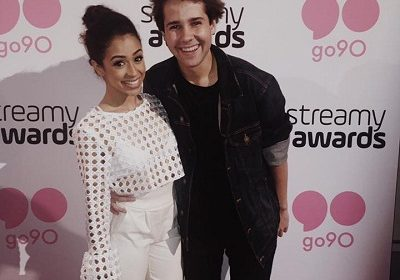 Youtuber David Dobrik and girlfriend Liza Koshy have cutest realtionship. More on their affair