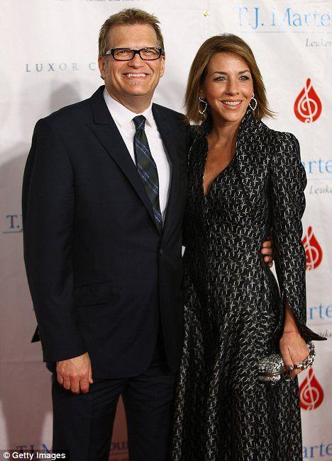 Drew Carey with his ex-fiancee Nicole Jaracz
