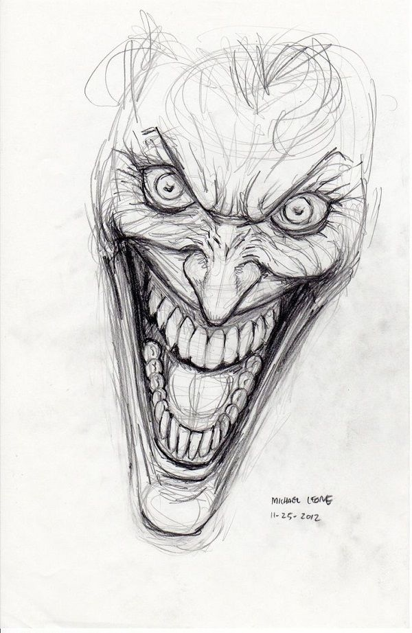 Source: Pinterest (Joker sketch)