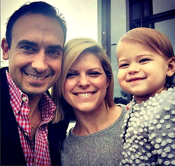 Source: Salary And Net Worth (Kate Bolduan with her husband and daughter )