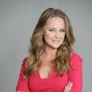 Sharon Case and family