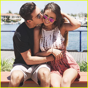 Source: Just Jared Jr. (Social Stars Gabriel Conte & Jess Bauer)