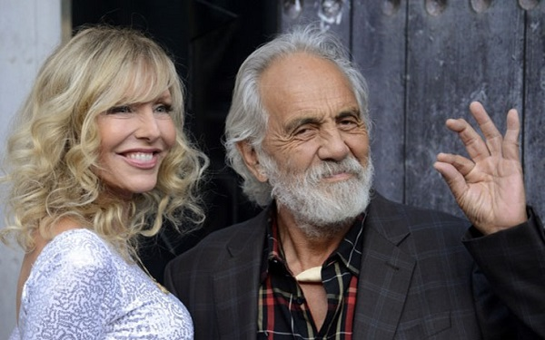 Source: HitBerry (Tommy Chong and his second wife. Shelby Chong)