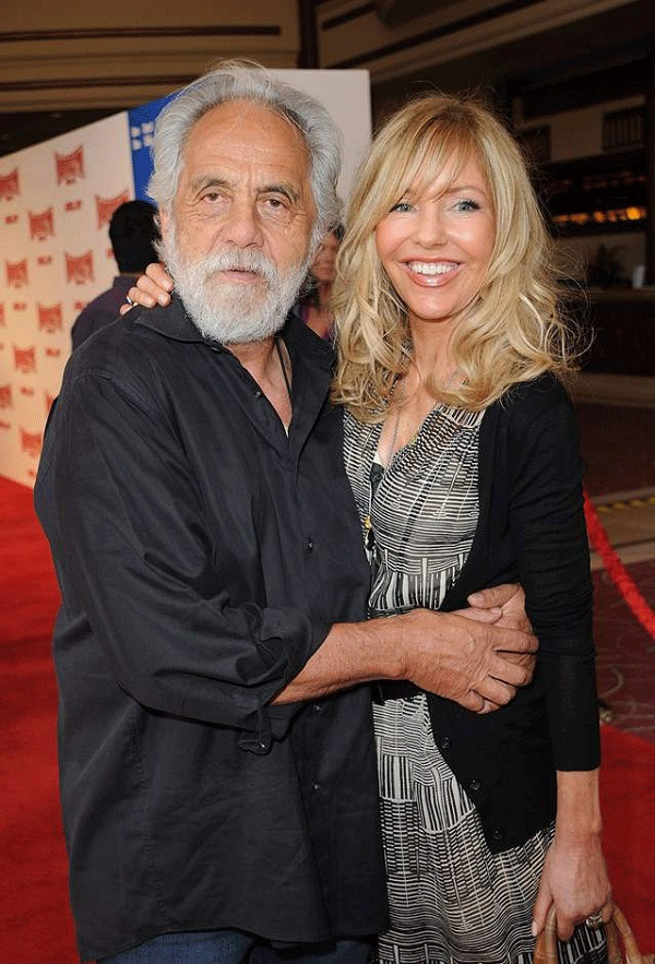 Source HitBerry (Tommy Chong and his wife Shelby Chong living a happy life together)