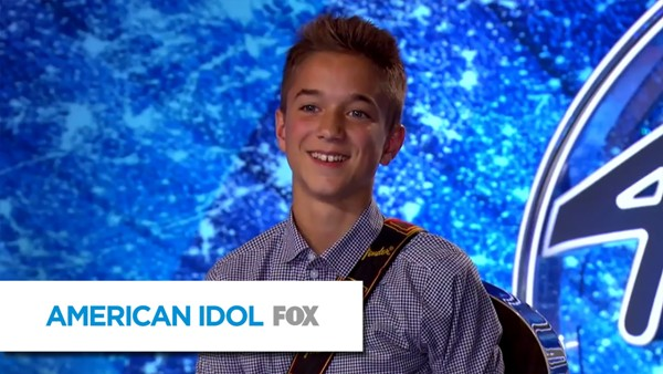 Source: YouTube (Daniel Seavey on American Idol show)