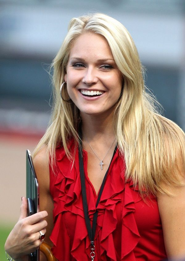 American Sports Broadcaster Heidi Watney Her Controversial Affairs