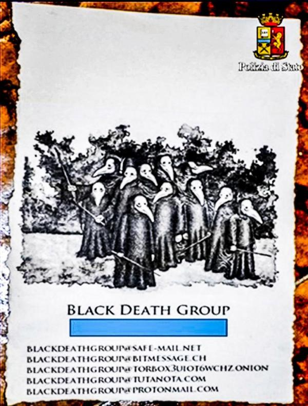 Source: The Sun (The Black Death group which sells female sex slaves online)