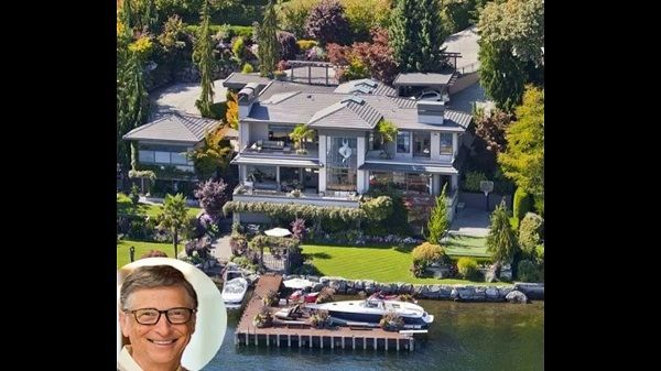 Bill Gates Luxury Mansion Xanadu 2.0