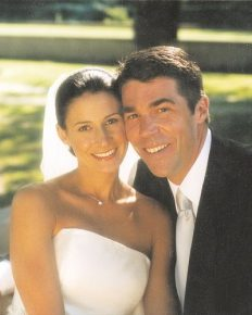 All the wedding details on Chris Fowler and girlfriend turned wife, Jennifer Dempster's failry tale marriage ceremony