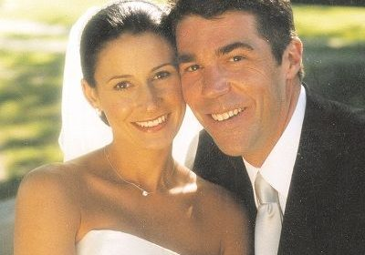 All the wedding details on Chris Fowler and girlfriend turned wife, Jennifer Dempster's fairy tale marriage ceremony