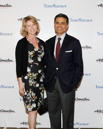 Fareed Zakaria and Paula Throckmorton Zakaria