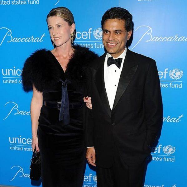 Source: Live Rampup (Fareed Zakaria with his wife Paula Throckmorton)