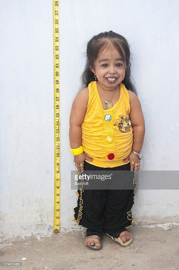 Jyoti Amge, smallest woman ever according to Guinness ...