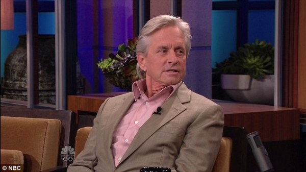 Source: Daily Mail (Michael Douglas on a show)