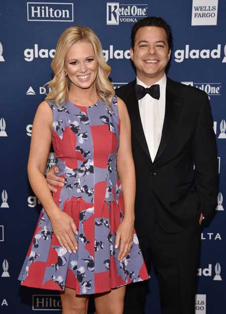 Source: MarriedWiki (Margaret Hoover with her husband)