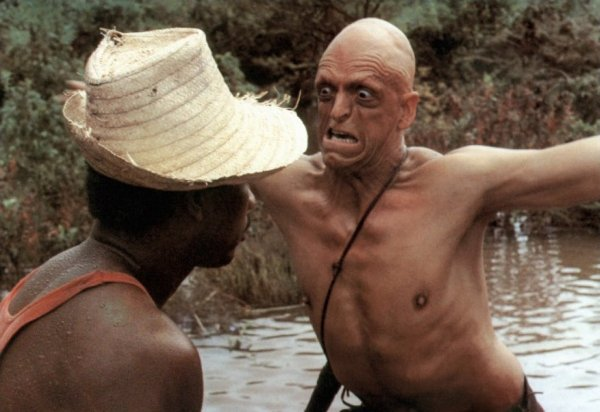 Why was Michael Berryman born with the strange face and