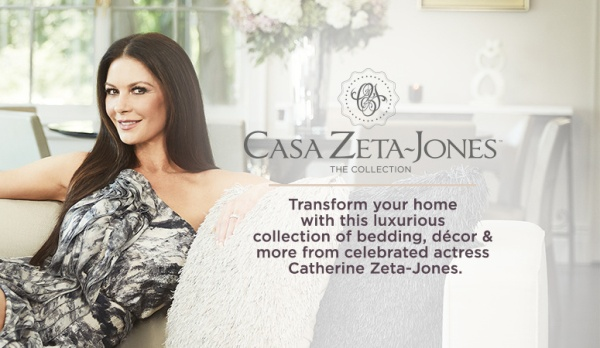 American actress Catherine Zeta-Jones' Casa Zeta Jones is ... Catherine Zeta Jones Qvc