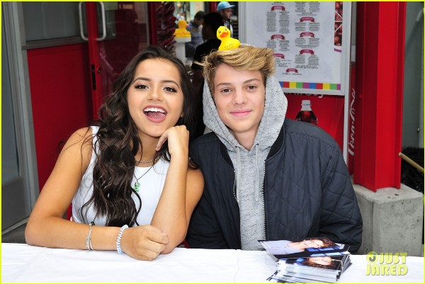 Source: Just Jared Jr (Isabela Moner and Jace Norman)