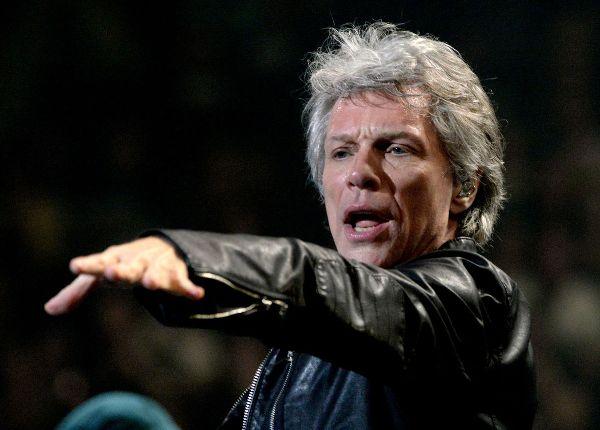 American singer Jon Bon Jovi