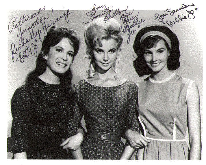 Source: Pinterest (Actress who played the role of Billie Jo Bradley in Petticoat Junction including Linda Henning, Gunilla Hutton & Lori Saunders)