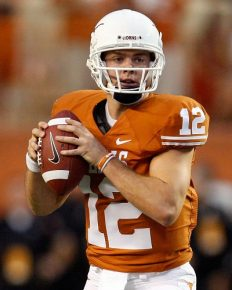 Born as the eldest of three children of his parents, Colt McCoy's father was a big influence on him playing football throughout his early life! Explore about his married life and Beginning professional career