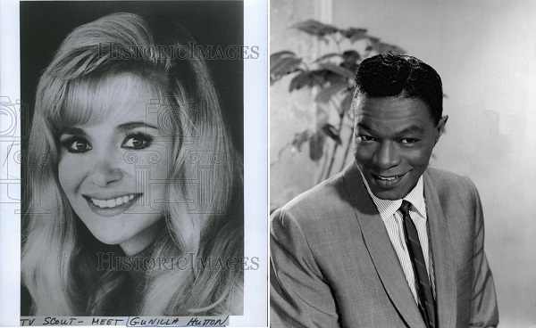 Gunilla Hutton and Nat King Cole