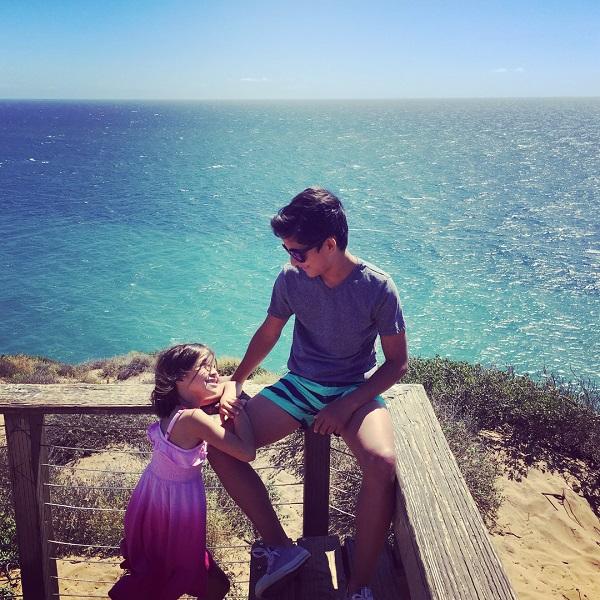 Source: Instagram (Louise Lombard's children Alejandro and Rafaella)