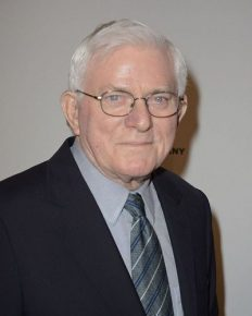"Phil Donahue has a long history from his talk show program ""The Phil Donahue Show"". Also received a lifetime achievement award this year. Phil is someone you must know about!"