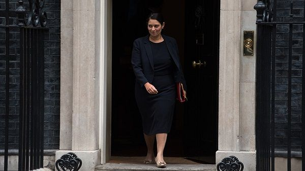 Source: Firenews(Priti Patel fordced to resign)